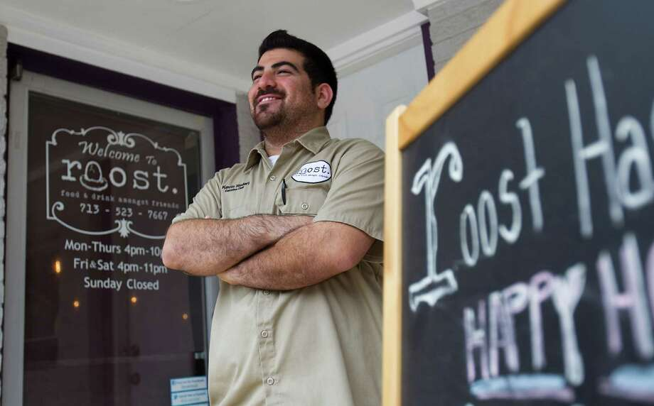 Kevin Naderi is the chef / owner of Roost the new Montrose restaurant, Thursday, May 10, 2012, in Houston.   ( Karen Warren / Houston Chronicle ) Photo: Karen Warren, Staff / Houston Chronicle