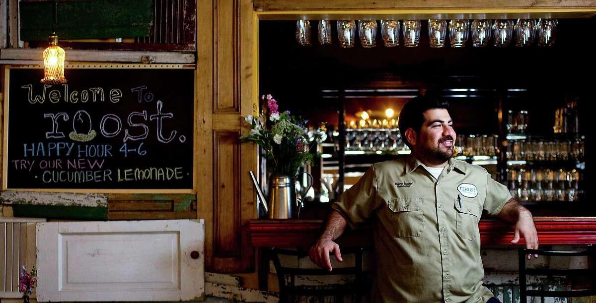 Kevin Naderi is the chef / owner of Roost the new Montrose restaurant, Thursday, May 10, 2012, in Houston. ( Karen Warren / Houston Chronicle )