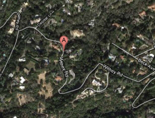 Approximate location of 18000 block of Withey Road in Monte Sereno, CA Photo: Google Maps