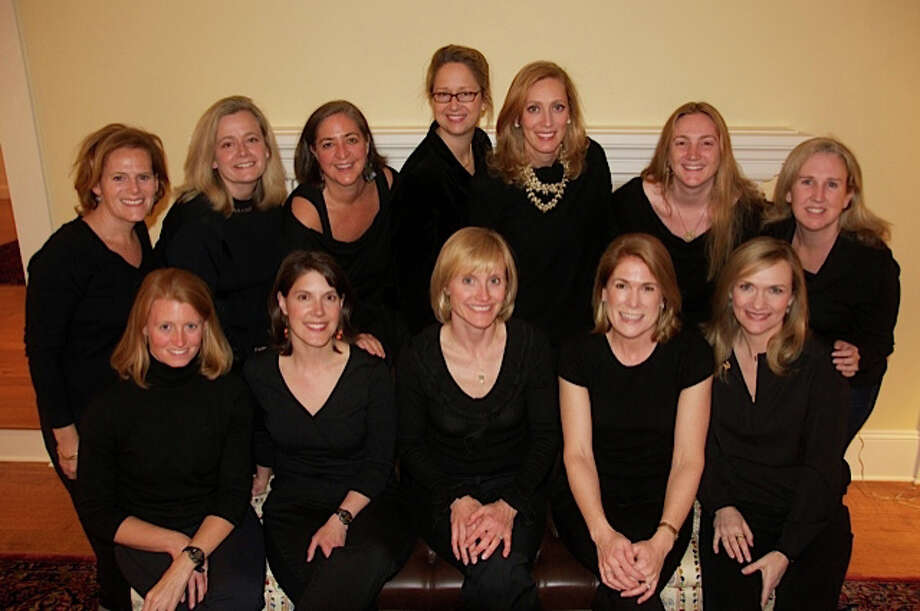 Acabella, an a cappella group comprised of 12 women from the lower Fairfield County area, will perform a program of seasonal and popular songs at the Darien Library. Photo: Contributed