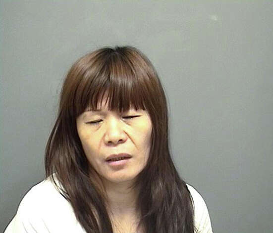 Fenjiao Gao, 43, from Flushing, N.Y. was charged with interfering with a police officer and practicing massage without a license. Photo: Contributed
