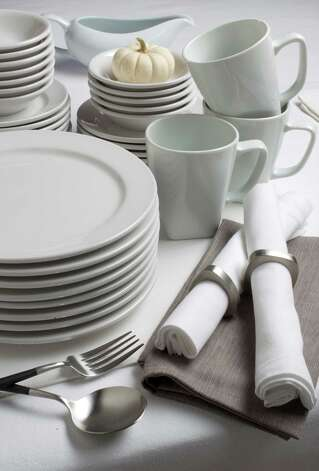 White dinnerware is versatile and food-friendly. Photo: Tammy Ljungblad, MBR / Kansas City Star