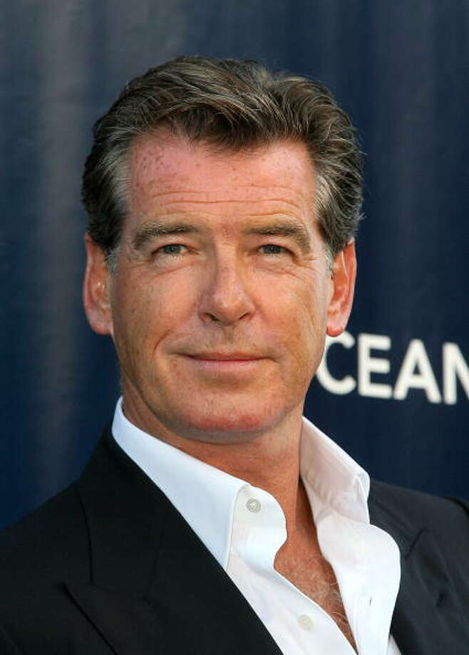 Pierce Brosnan -- after Daniel Craig's recent somber outing, Brosnan's Bond is looking good again. Photo: Valerie Macon, Getty Images / 2010 Getty Images