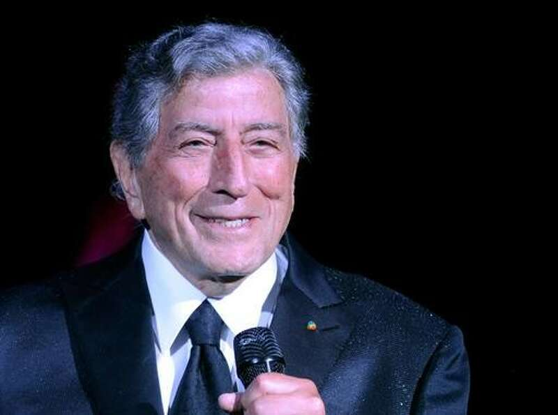Tony Bennett -- the oldest guy on the list.  And still cool.  Cooler now than he was when he was 45.