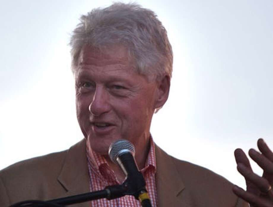 Bill Clinton -- people still like him for the things they always liked him for, but now they like him for the things they didn't like about him.  Plus, he was the hit of the Democratic convention.