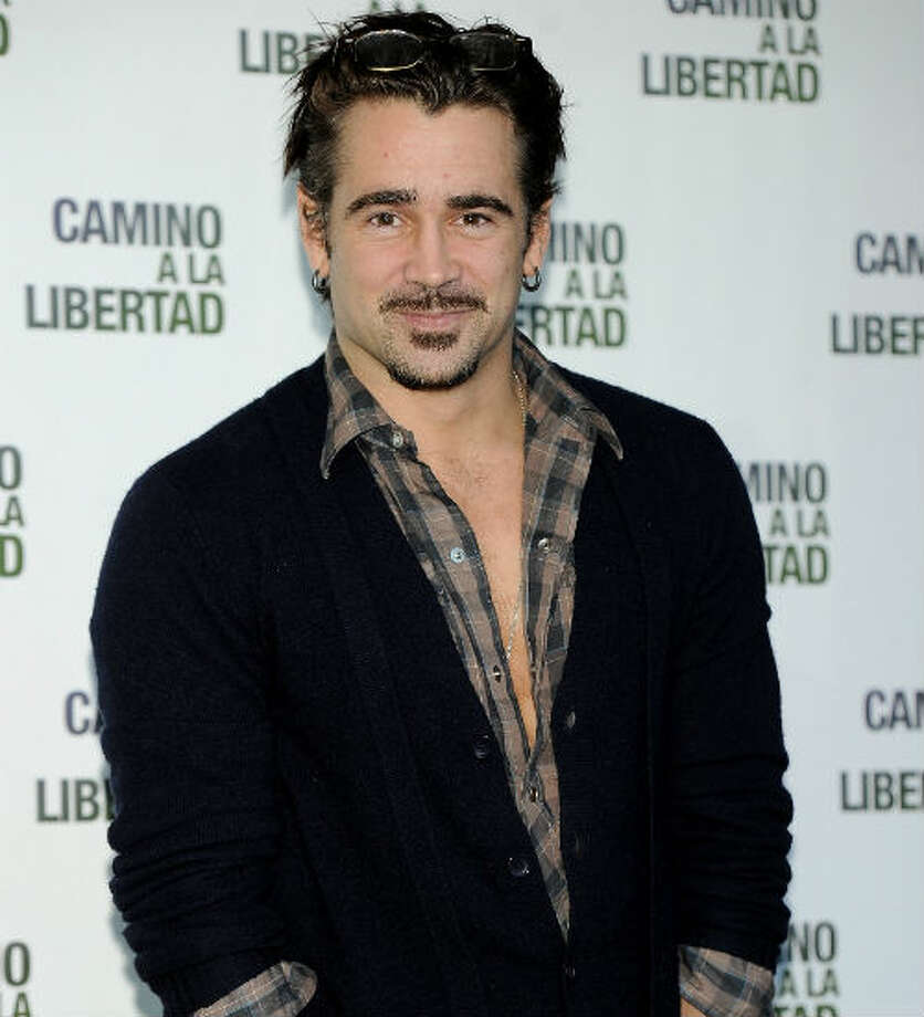 Colin Farrell -- he starred in SEVEN PSYCHOPATHS.  But was that a good thing or a bad thing?