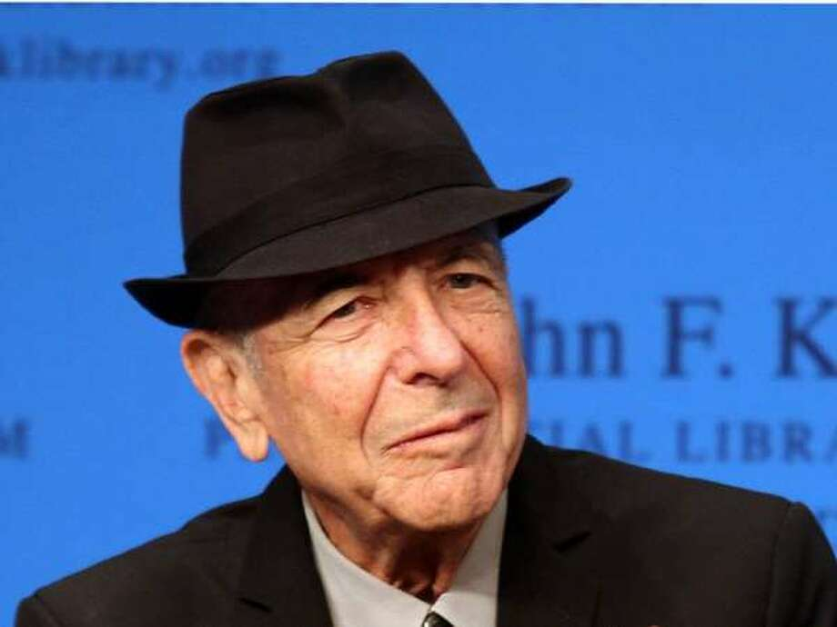 Leonard Cohen, songwriter.