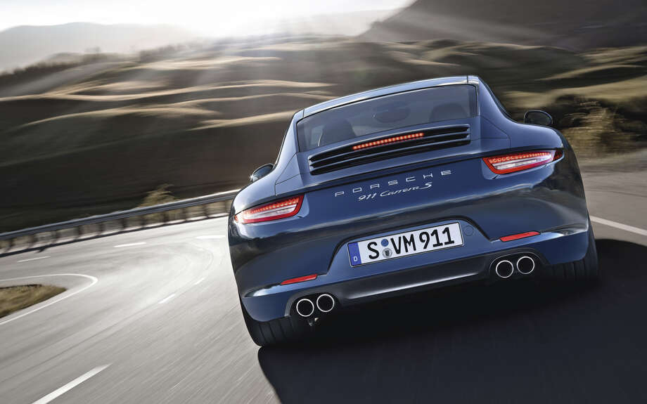 The 2013 Porsche 911 Carrera S. Photo: Porsche North America