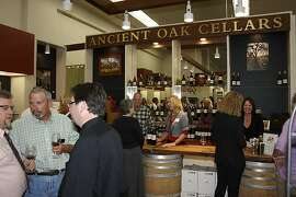 Ancient Oak Cellars tasting room