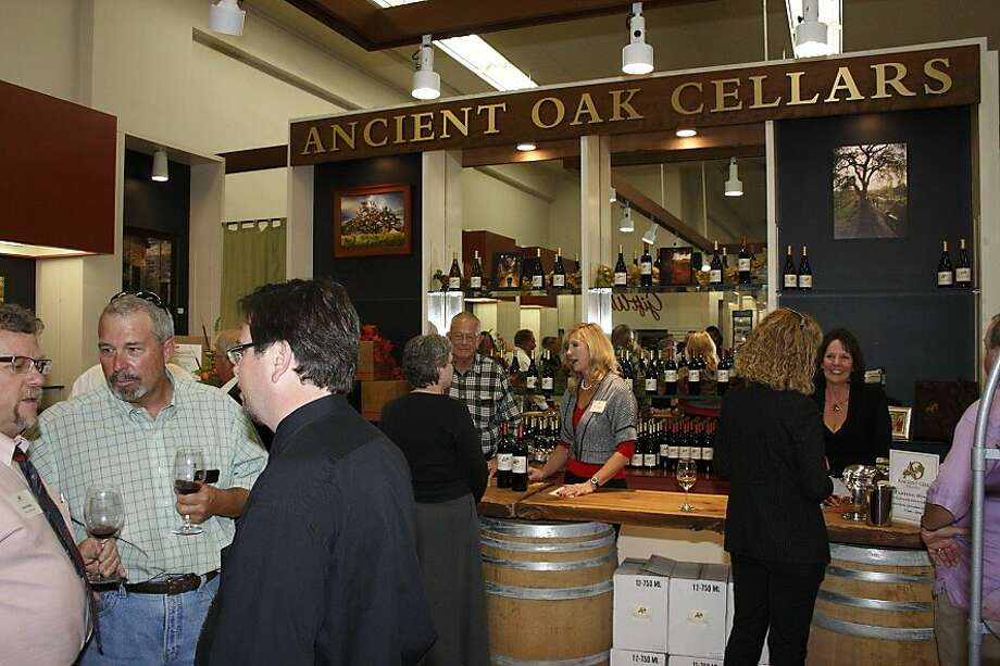 Ancient Oak Cellars has opened a tasting room at the 97-year-old Corrick's gift emporium in Santa Rosa. Photo: Alan Bartl, Ancient Oak Cellars