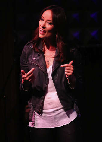 Olivia Wilde performs at Glamour Presents These Girls at Joe's Pub on October 8, 2012 in New York City. On the way up. Photo: Astrid Stawiarz / 2012 Getty Images