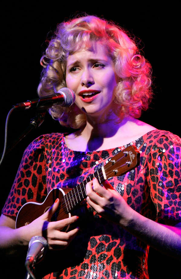 Musician Nellie McKay performs onstage during A Better Holiday benefit concert at Joe's Pub on December 5, 2011 in New York City.  Genuine.  (Photo by Mike Lawrie/Getty Images) Photo: Mike Lawrie, Getty Images / 2011 Getty Images