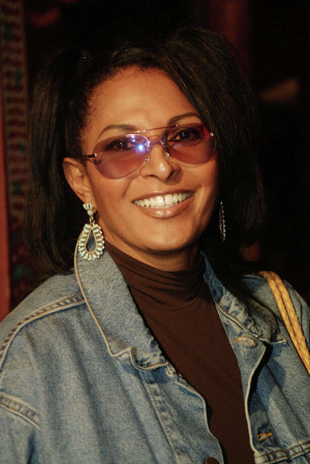 Cool even before Tarantino:  Pam Grier on October 23, 2001 in Los Angeles, CA. (Photo by Frederick M. Brown/Getty Images) Photo: Frederick M. Brown, Getty Images / Getty Images North America