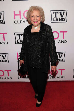 NEW YORK - JUNE 14, 2010:  Actress Betty White attends the Hot in Cleveland premiere at the Crosby Street Hotel.  Wasn't cool until she was 90. Photo: Bryan Bedder, Getty Images / 2010 Getty Images