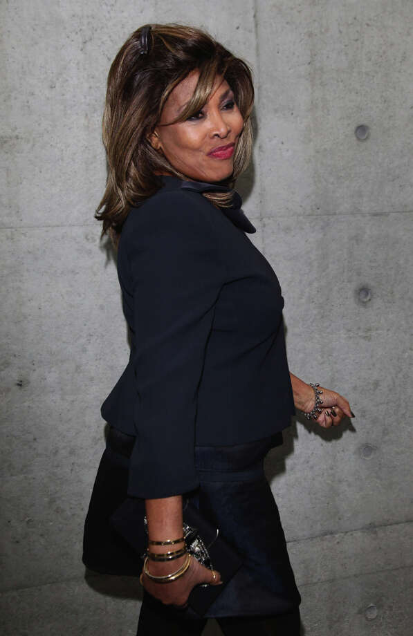 Singer Tina Turner attends the Giorgio Armani fashion show as part of Milan Fashion Week Womenswear Autumn/Winter 2011 on February 28, 2011 in Milan, Italy. 45 years of cool. (Photo by Vittorio Zunino Celotto/Getty Images) Photo: Vittorio Zunino Celotto, Getty Images / 2011 Getty Images