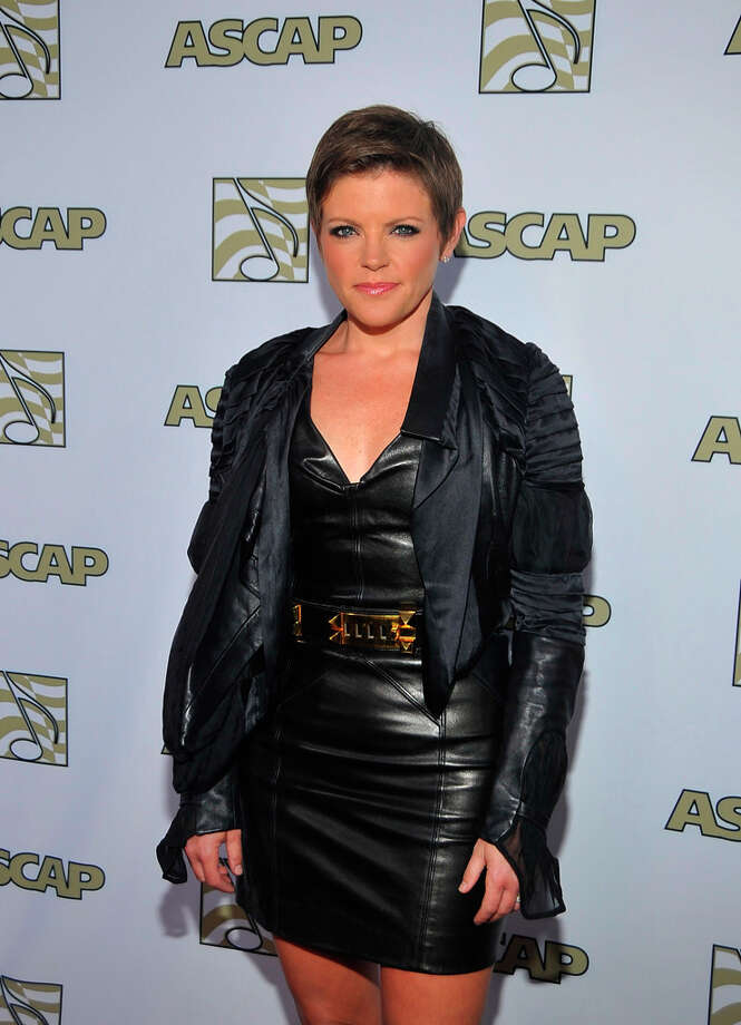 Singer Natalie Maines arrives at the 2012 ASCAP POP Music Awards at Hollywood Renaissance Hotel on April 18, 2012 in Hollywood, California. She won't back down. Photo: John M. Heller, Getty Images / 2012 Getty Images