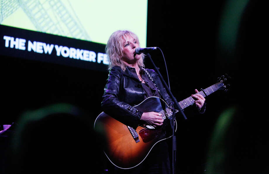 Singer Lucinda Williams performs on October 6, 2012 in New York City. Country can be cool.  (Photo by Amy Sussman/Getty Images for The New Yorker) Photo: Amy Sussman, Getty Images For The New Yorker / 2012 Getty Images