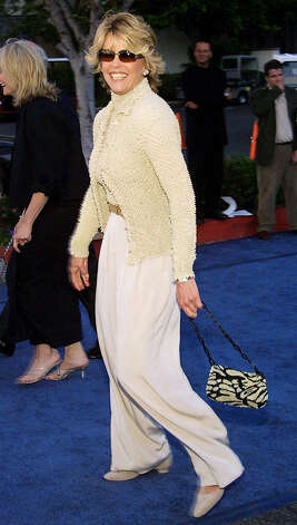 Actress Jane Fonda, a living legend, a nice lady, and one of the stars of NEWSROOM. Photo: LEE CELANO, AFP/Getty Images / AFP