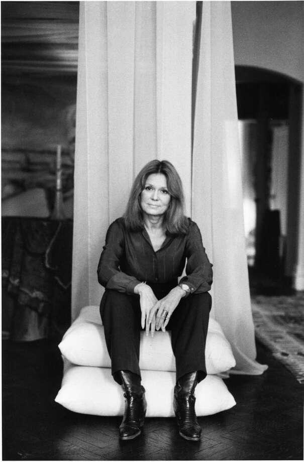 Gloria Steinem -- feminist, strong, lucid and perceptive. Photo: Irene Kubota/courtesy Of HBO / © 2011 HBO