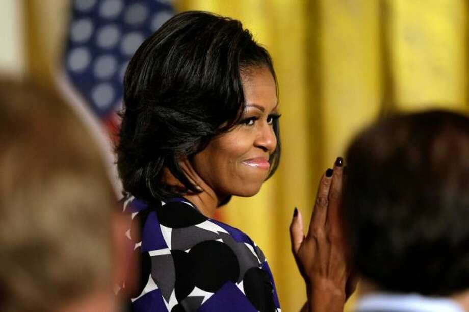 Michelle Obama -- her convention speech was better than Barack's.