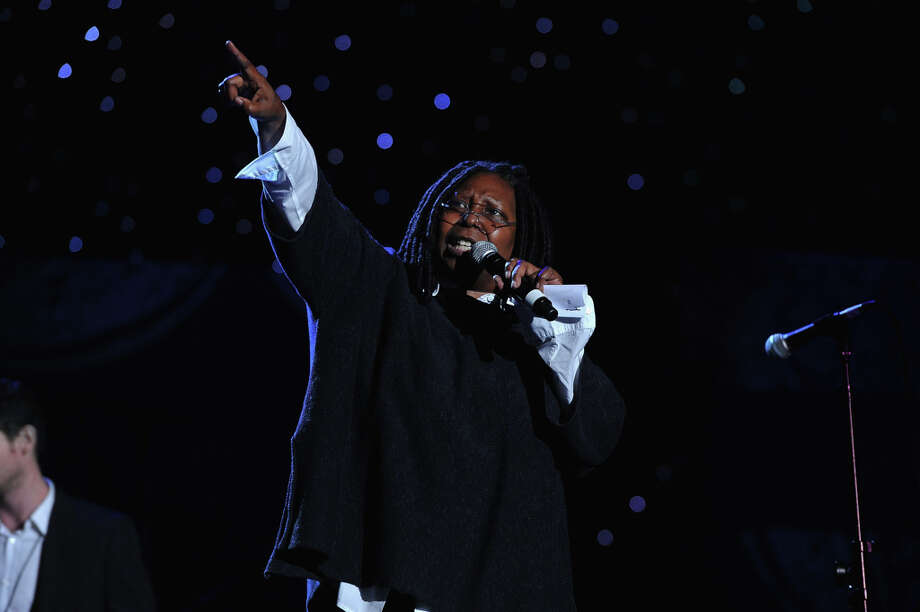 Whoopi Goldberg on October 9, 2012 in Syracuse, New York.  You just don't get the feeling she'd ever lie to you. Photo: Larry Busacca / 2012 Getty Images