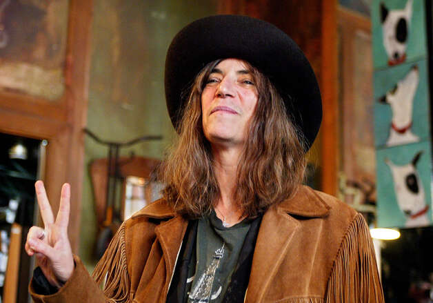 Patti Smith, still producing good work in 2012. Photo: FRANCOIS GUILLOT, AFP/Getty Images / 2004 AFP