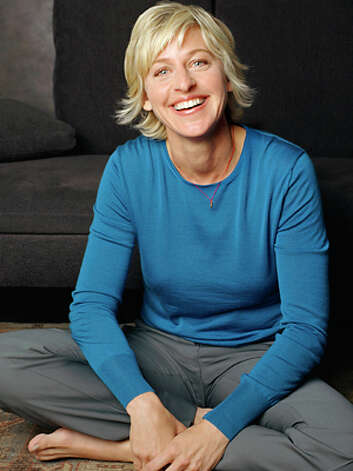 Ellen DeGeneres -- for three decades of warmth and good humor. Photo: Michele Laurita, ? Michele Laurita/CORBIS OUTLINE / Corbis Outline