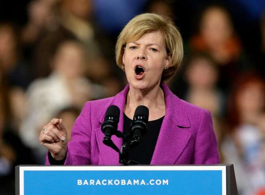 Tammy Baldwin -- won a Senate seat in Wisconsin.  The first openly gay person in the US Senate.