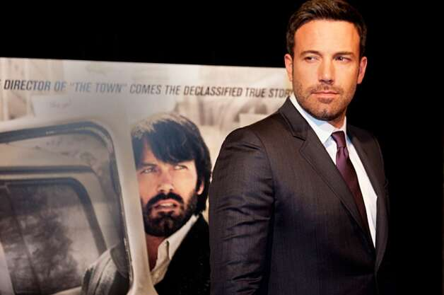Ben Affleck -- with a hit movie, ARGO.