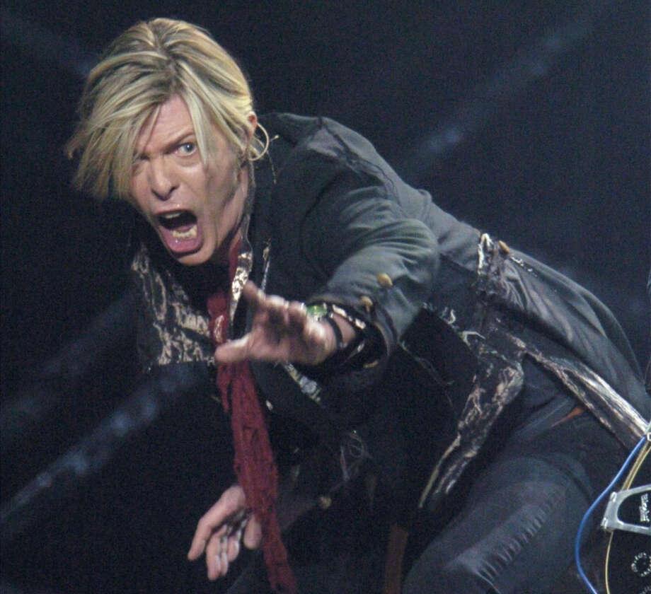 David Bowie -- always in contention. Photo: BERNARD BRAULT, AP / MTLP