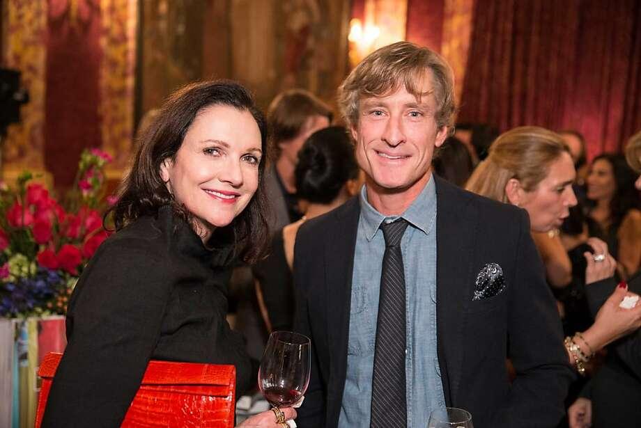 LaForce + Stevens co-founder Leslie Stevens with Charlie Kappler. Photo: Drew Altizer Photography