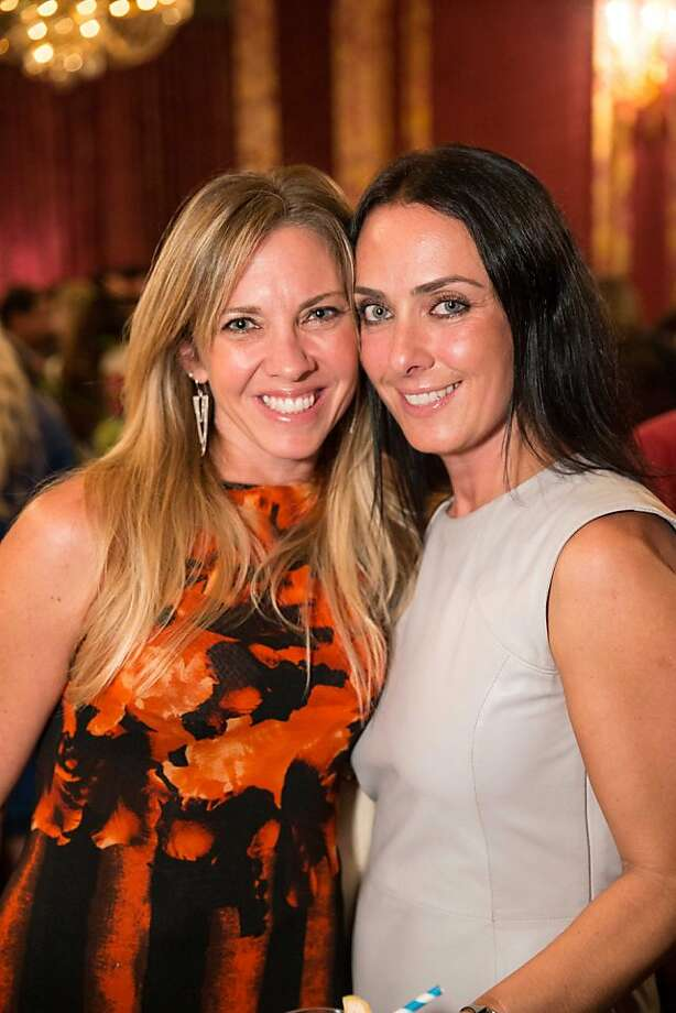 Art dealer Julie Zener and Lucia Clifford. Photo: Drew Altizer Photography