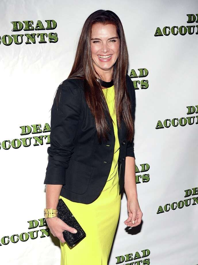 Actress and model Brooke Shields attends the Dead Accounts Broadway opening night arrivals and curtain call at the Music Box Theatre on November 29, 2012 in New York City. Photo: Andrew H. Walker, Getty Images / 2012 Getty Images