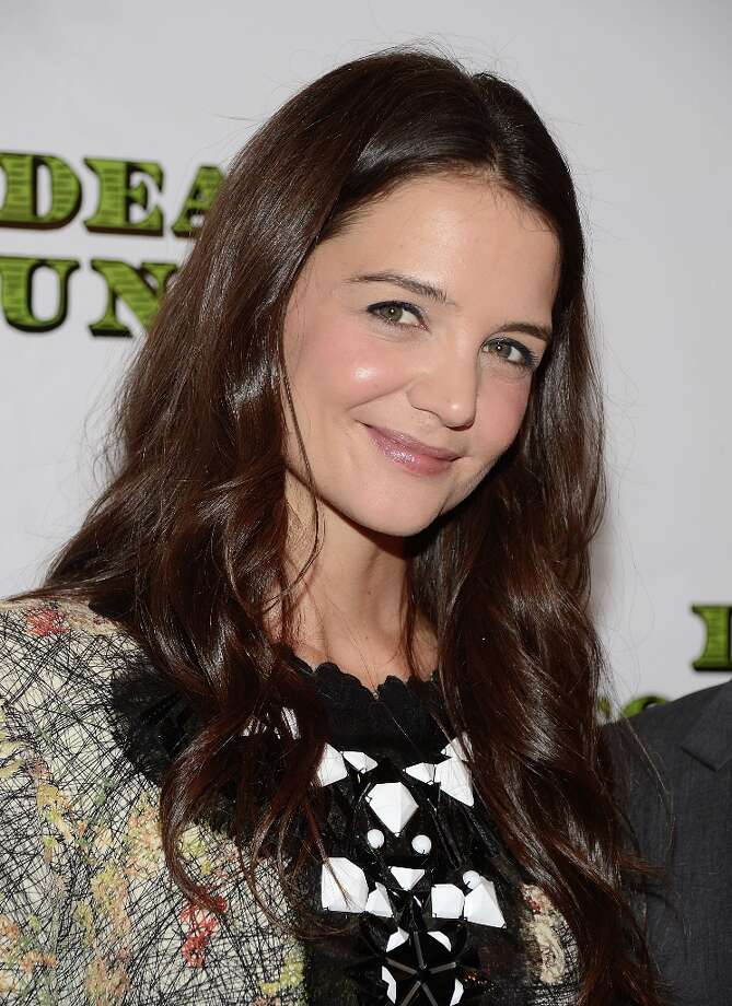 Actress Katie Holmes attends the Dead Accounts Broadway opening night after party at Gotham Hall on November 29, 2012 in New York City. Photo: Andrew H. Walker, Getty Images / 2012 Getty Images
