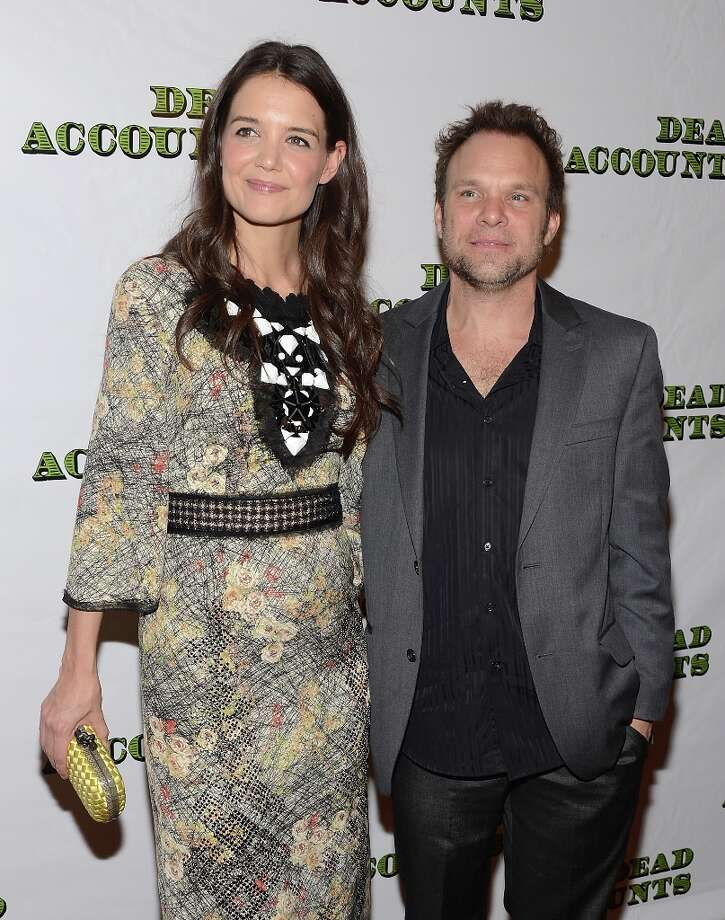 Actors Katie Holmes and Norbert Leo Butz attend the Dead Accounts Broadway opening night after party at Gotham Hall on November 29, 2012 in New York City. Photo: Andrew H. Walker, Getty Images / 2012 Getty Images