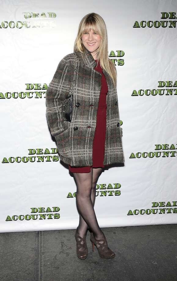 Actress Lily Rabe attends the Dead Accounts Broadway opening night arrivals and curtain call at the Music Box Theatre on November 29, 2012 in New York City. Photo: Andrew H. Walker, Getty Images / 2012 Getty Images