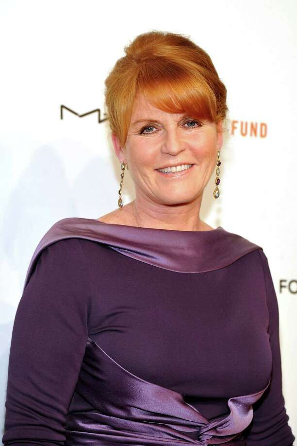 "NEW YORK, NY - (FILE)  Sarah Ferguson, Duchess of York attends the 10th Annual Elton John AIDS Foundation's ""An Enduring Vision"" benefit at Cipriani Wall Street on Oct. 26, 2011, in New York City. Ferguson will visit the New Canaan Library Sunday, Dec. 2, at 3 p.m. to share her new children's book, ""Ballerina Rosie""  (Photo by Mike Coppola/Getty Images) Photo: Mike Coppola, Getty Images / 2011 Getty Images"
