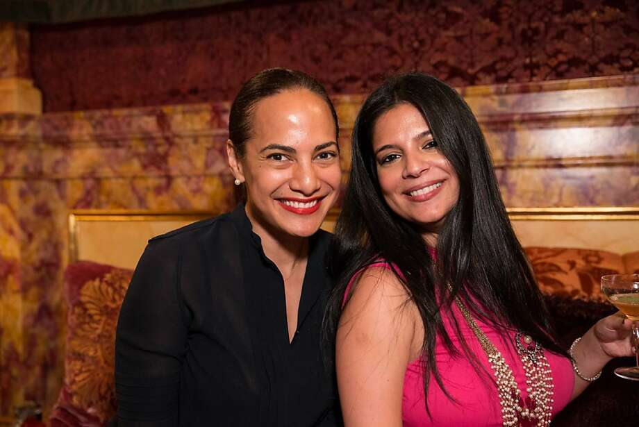 Splendora.com founder and vintage aficionado Gina Pell with pal Monaz Grover. Photo: Drew Altizer Photography