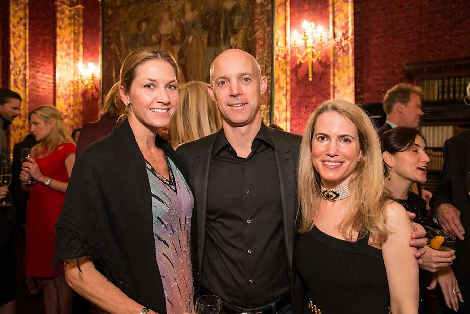 Beth and Anthony Armstrong with Heart of Green founder Nadine Weil. Photo: Drew Altizer Photography