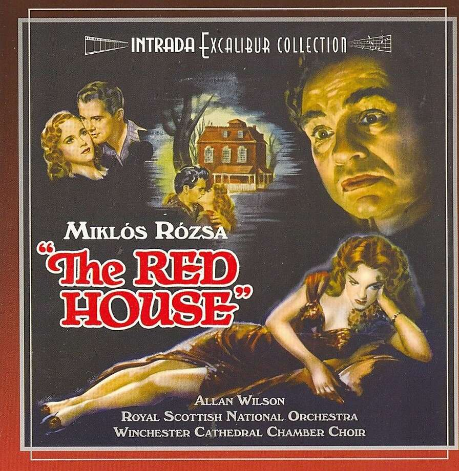 """The Red House"" film soundtrack CD cover Photo: Intrada"