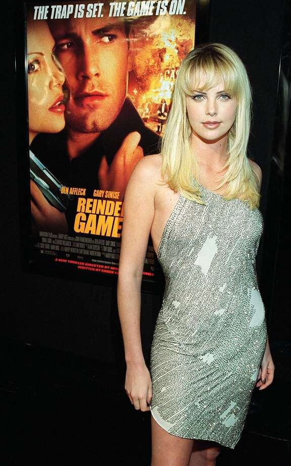 """Charlize Theron in 2000, when she starred in """"Reindeer Games"""" (not a Ridley Scott movie).  Photo: LUCY NICHOLSON, AFP/Getty Images / AFP"""