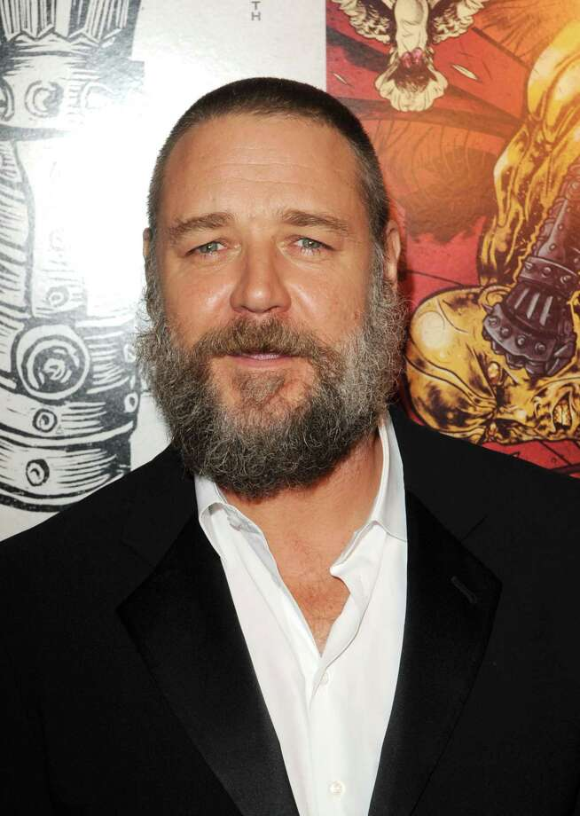 "Russell Crowe at the screening for ""The Man With Iron Fists"" on Oct. 27, 2012.  Photo: Craig Barritt, Getty Images / 2012 Getty Images"