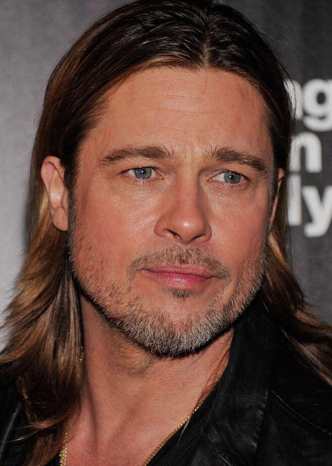 "Brad Pitt at the Nov. 26, 2012 screening of his new movie, ""Killing Them Softly"" (not a Scott movie). Photo: Stephen Lovekin, Getty Images / 2012 Getty Images"