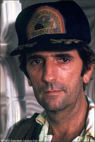 "Harry Dean Stanton in ""Alien."" Photo: 20th Century Fox"