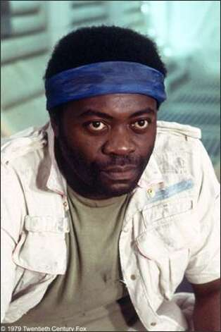 "Here's Yaphet Kotto in ""Alien,"" before he became famous for his role as ...  Photo: 20th Century Fox"