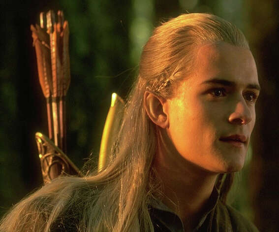"... a bow and arrow as Legolas in the ""Lord of the Ring"" movies (not by Ridley Scott).  Photo: File Photo"