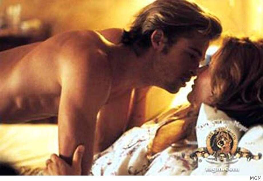 """Thelma & Louise"" also introduced the world to a young, shirtless Brad Pitt.  Photo: File Photo"