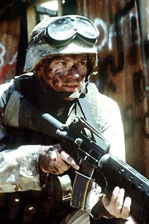 """Black Hawk Down"" also starred Ewan McGregor, years after he made a splash in the movie ...  Photo: File Photo"