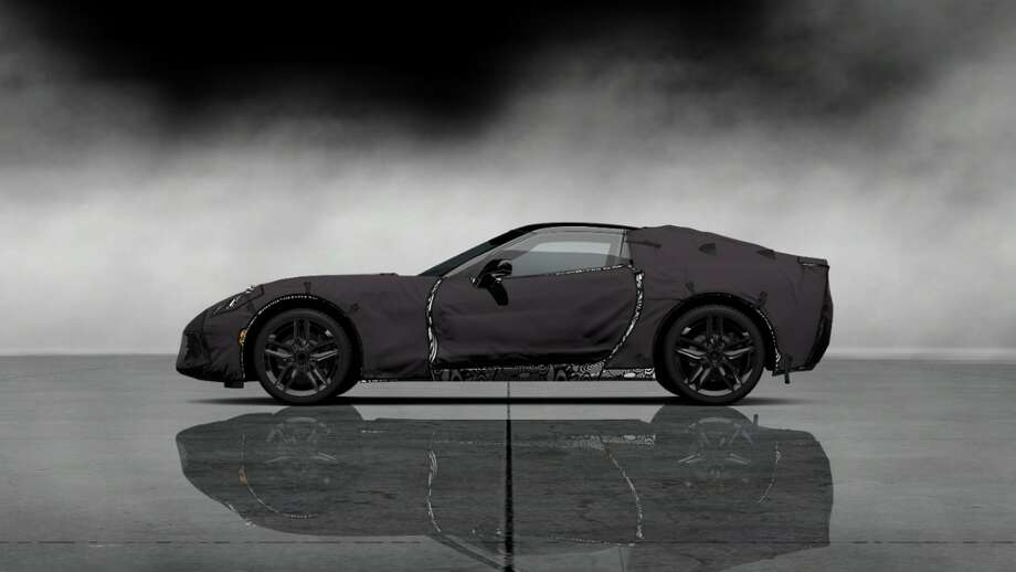 The 2014 Corvette C7 as seen in a PS3 Gran Turismo simulation. Photo: Chevrolet
