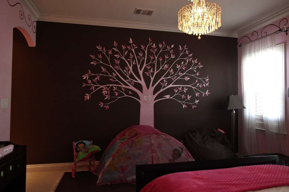 The daughter's room in the home of Reema and Naveen Kella in San Antonio on Wednesday, Nov. 28, 2012. (San Antonio Express-News)